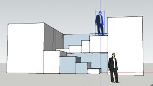 Staircase model