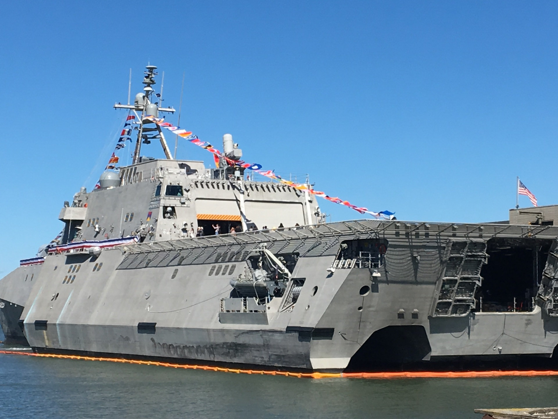 The USS Manchester at San Francisco