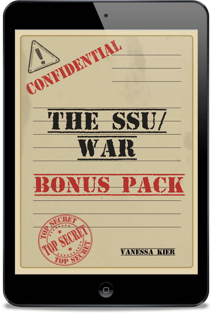 Image of The SSU/WAR Bonus Pack cover inside an iPad