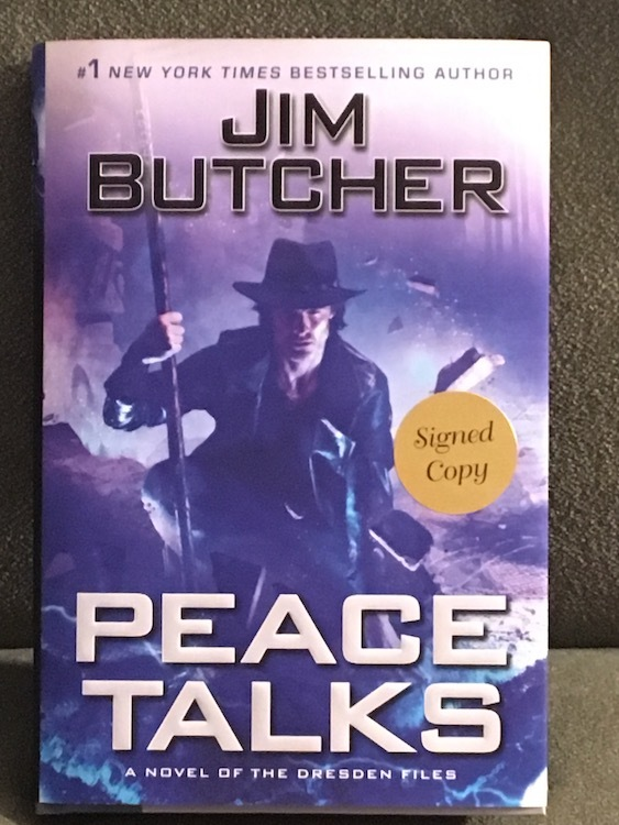 Photo of cover of Peace Talks by Jim Butcher